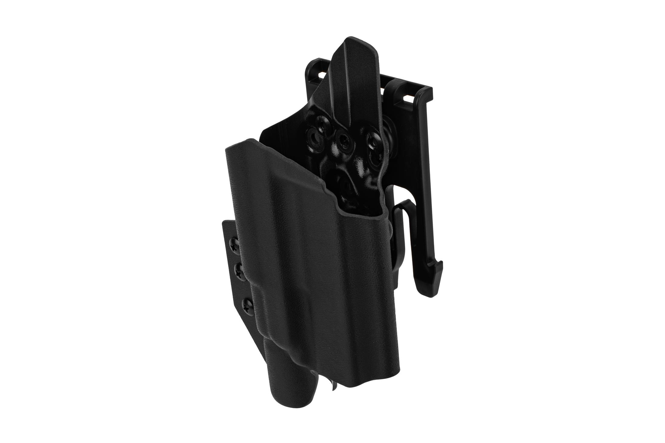 ANR Design Nidhogg Glock 19 light bearing OWB holster is compatible with X300U weapon lights