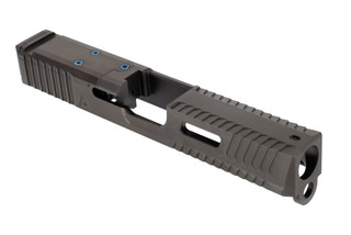 Agency Arms Glock 19 peacekeeper slide features side window cuts