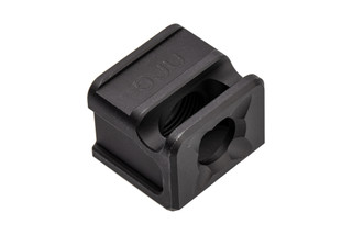 SPARC-M V2 Glock Compensator from Arc Division features a black anodized finish and 1/2x28 threads