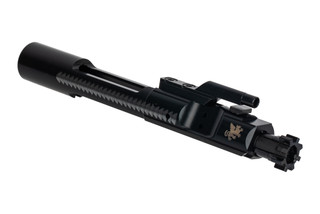 Griffin Armament Enhanced AR15 bolt carrier group features a Melonite finish