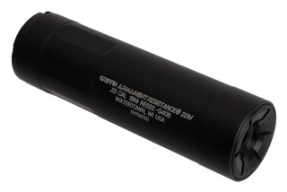 Griffin Armament Resistance 22M Modular Silencer features a hardcoat anodized finish