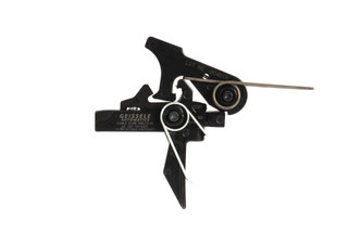Geissele Automatics Super Speed Precision Single Stage AR-15 flat trigger has a precise break and tactile reset