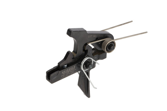 Geissele Automatics SSP Single Stage Precision AR trigger has minimal trigger movement for fast splits and crisp break