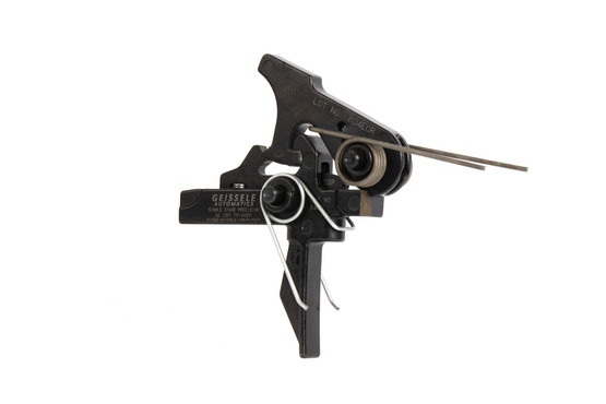 Geissele Automatics single stage precision trigger is compatible with your favorite AR15, AR10, and AR-308 platform rifles