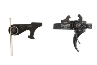 The Geissele Automatics Large Pin Super Semi-Automatic SSA Two Stage ar15 Trigger drops in to mil-spec colt receivers.