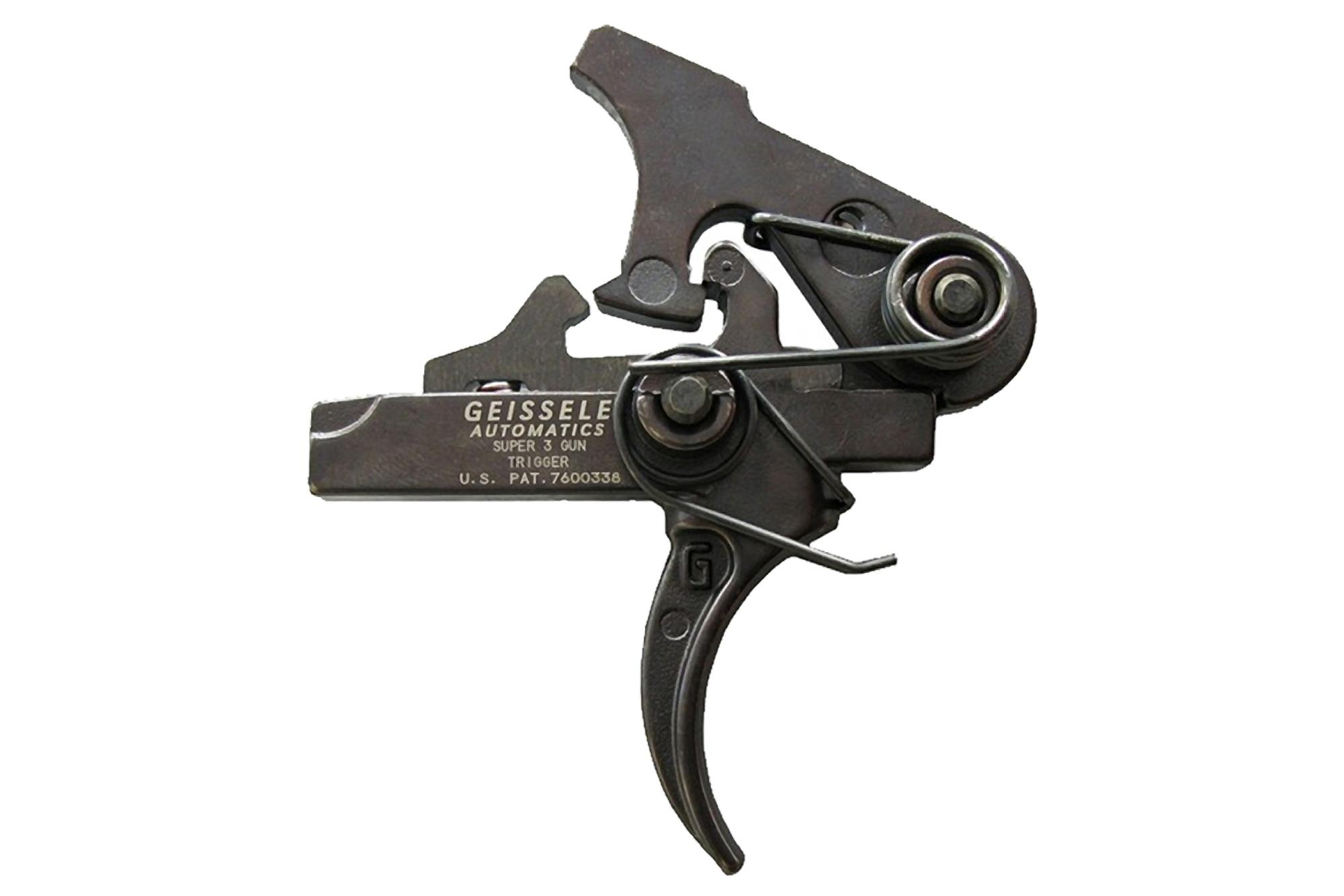 The Geissele Automatics Super 3 Gun S3G Hybrid AR-15 Trigger is designed for competition shooting