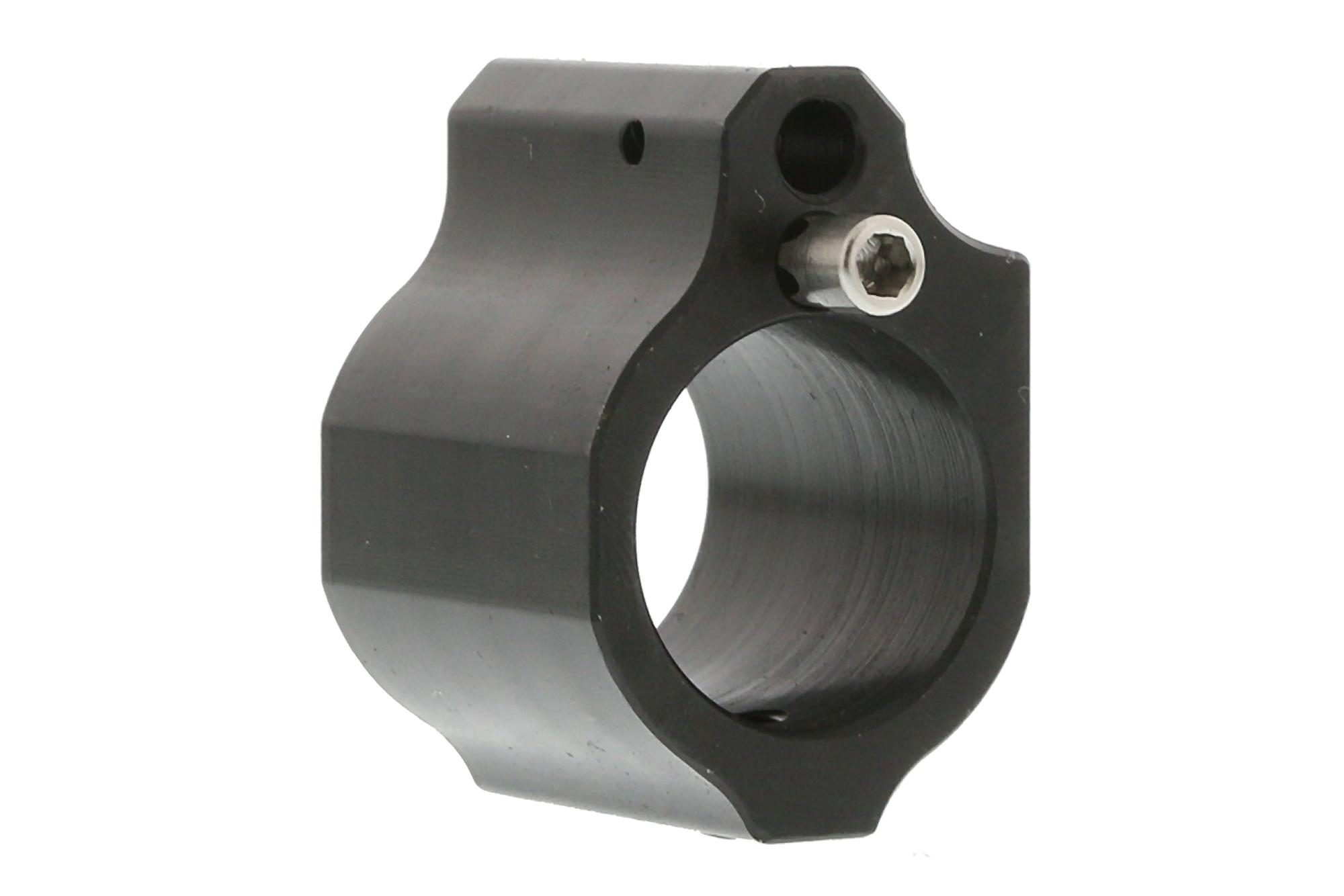 The Odin Works Adjustable low profile AR15 gas block .750 is Nitride coated