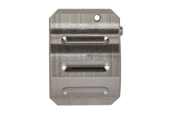 Odin Works Adjustable Gas Block is made from stainless steel