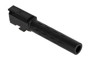 Faxon Firearms Glock 19 fluted barrel is machined from 416R stainless steel