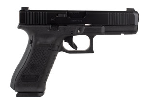 Glock 22 Blue Label Gen 5 pistol is chambered in 40 S&W