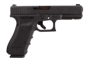 Glock Blue Label G22 Gen 4 .40 S&W handgun with 15-round magazines