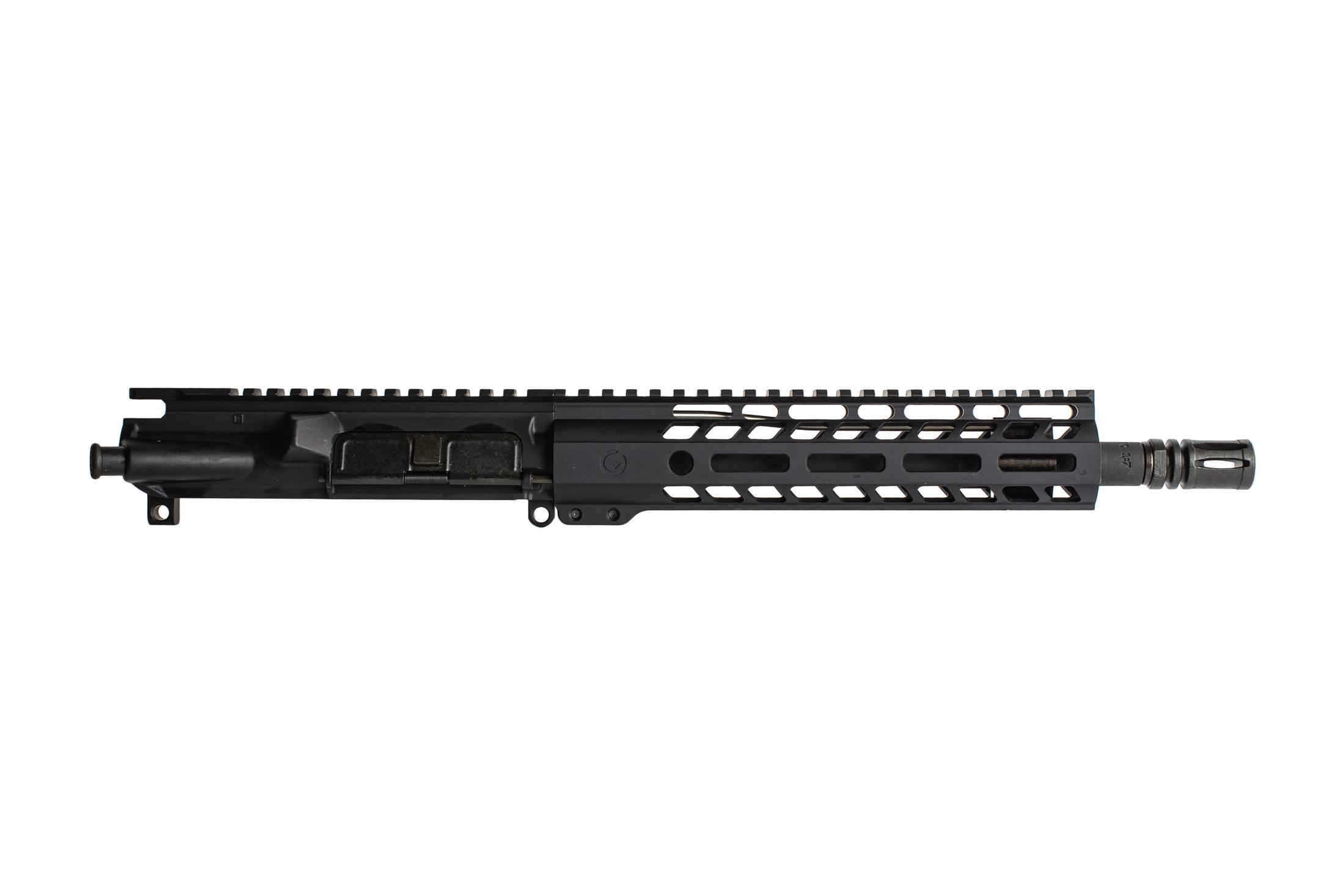 Ghost Firearms ELITE 10.5 barreled AR15 upper receiver in 5.56 NATO with M-LOK rail and carbine gas system