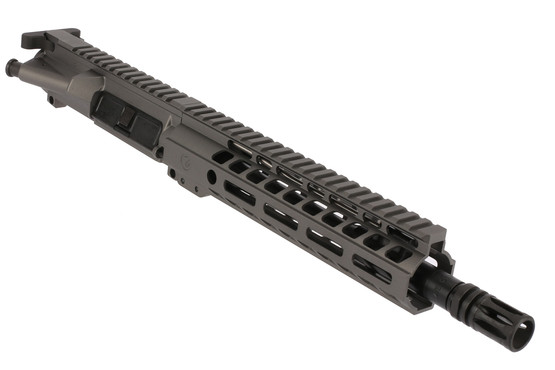 The Ghost Firearms 5.56 AR15 pistol kit features a 10.5 inch barrel and A2 flash hider