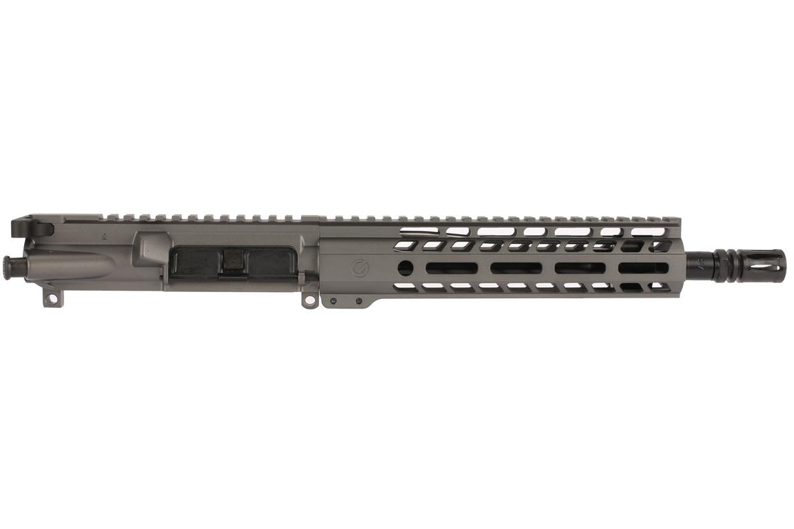The Ghost Firearms 5.56 pistol kit features a 9 inch M-LOK handguard