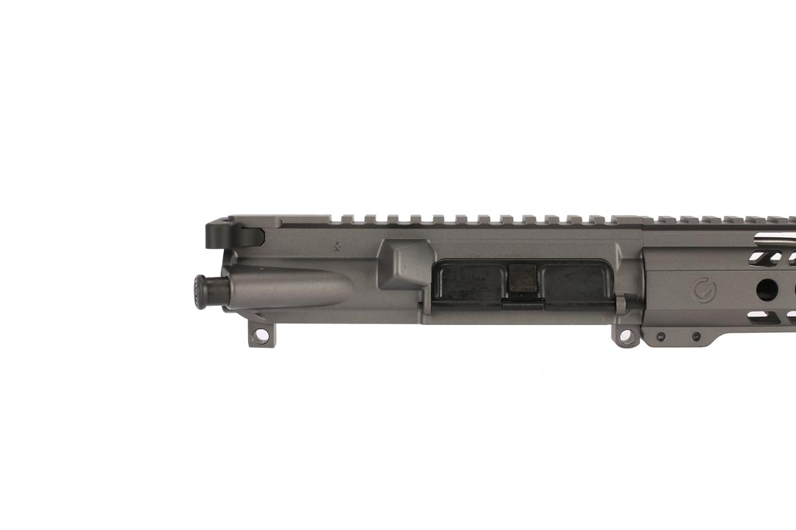 The Ghost Firearms 5.56 AR-15 pistol build kit comes with a fully assembled upper receiver