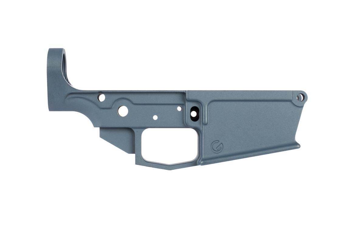 Ghost Firearms GF-10 Stripped Lower Receiver - Blue Titanium