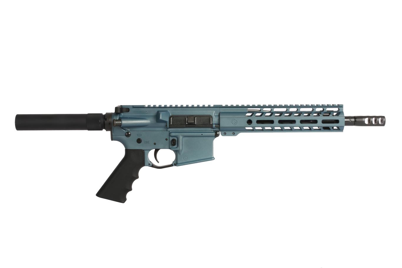 The Ghost Firearms AR-15 Pistol has a 10.5 inch 5.56 Barrel with a Carbine Length gas system