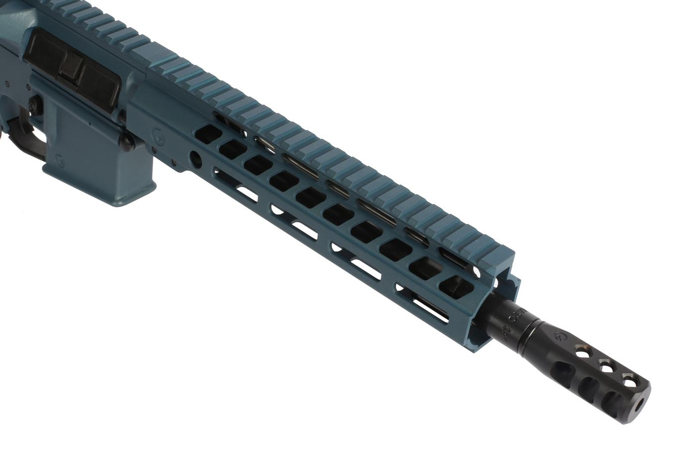 The Ghost Firearms AR 15 Pistol with 10.5 inch barrel comes with an axe brake muzzle brake