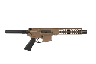 Ghost Firearms 7.5in 5.56 NATO 1:7 Carbine Length AR-15 Pistol with Flash Can - Flat Dark Earth Cerakote