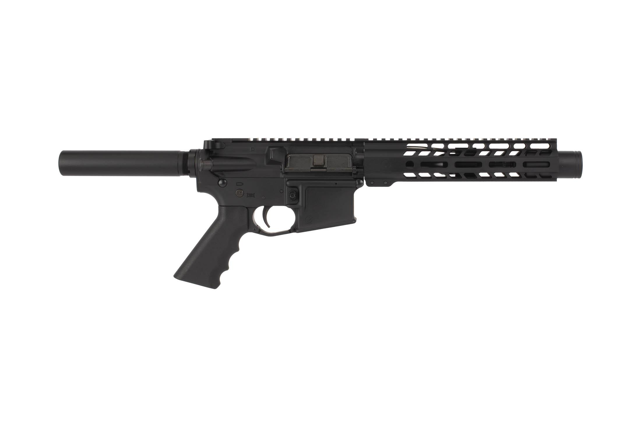 Ghost Firearms 7.5in 5.56 NATO Complete AR-15 pistol with reliable pistol length gas system