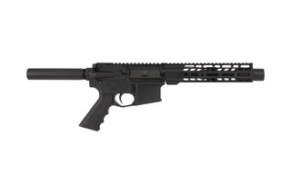 Ghost Firearms 7.5in Complete AR-15 Pistol with 5.56 NATO chamber 9in MLOK rail and a flash can