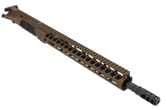 The Ghost Firearms 300 blackout elite AR15 kit features a Nitride coated barrel with Axe muzzle brake
