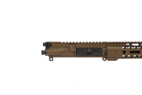 The Burnt Bronze 300 blackout ghost firearms elite rifle kit comes with a fully assembled upper receiver