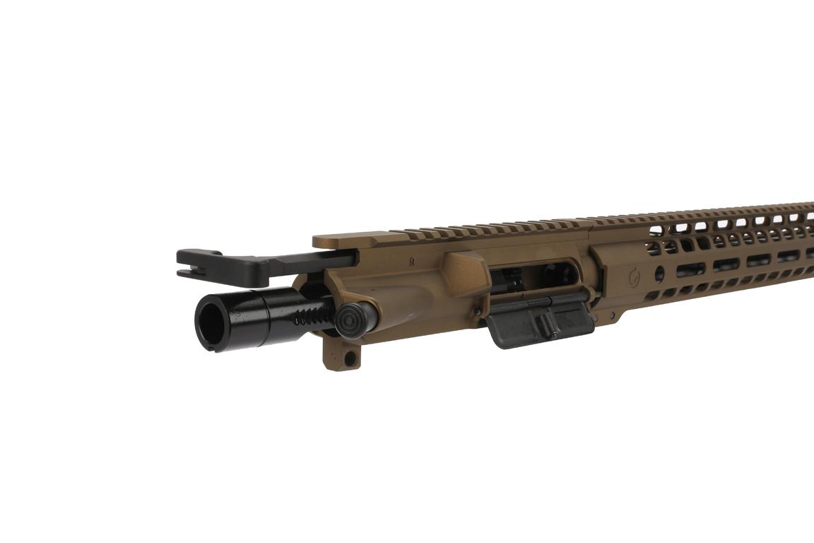 The Ghost 300 blackout rifle kit burnt bronze comes with an M16 bolt carrier group