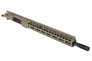 The Ghost Firearms 300 BLK barreled upper receiver assembly features a flat dark earth Cerakote finish