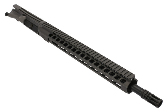 The Ghost Firearms 7.62x39 Elite Barreled Upper Receiver Group features a tungsten Gray Cerakote finish