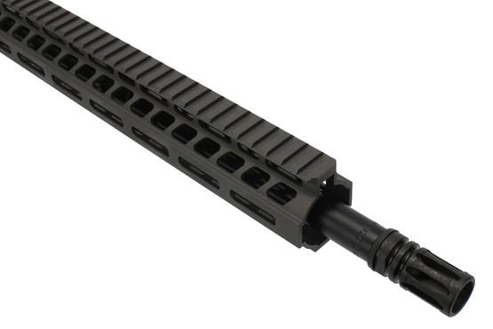 The Ghost Firearms Elite 762x39 barreled upper receiver features a free float m-lok handguard