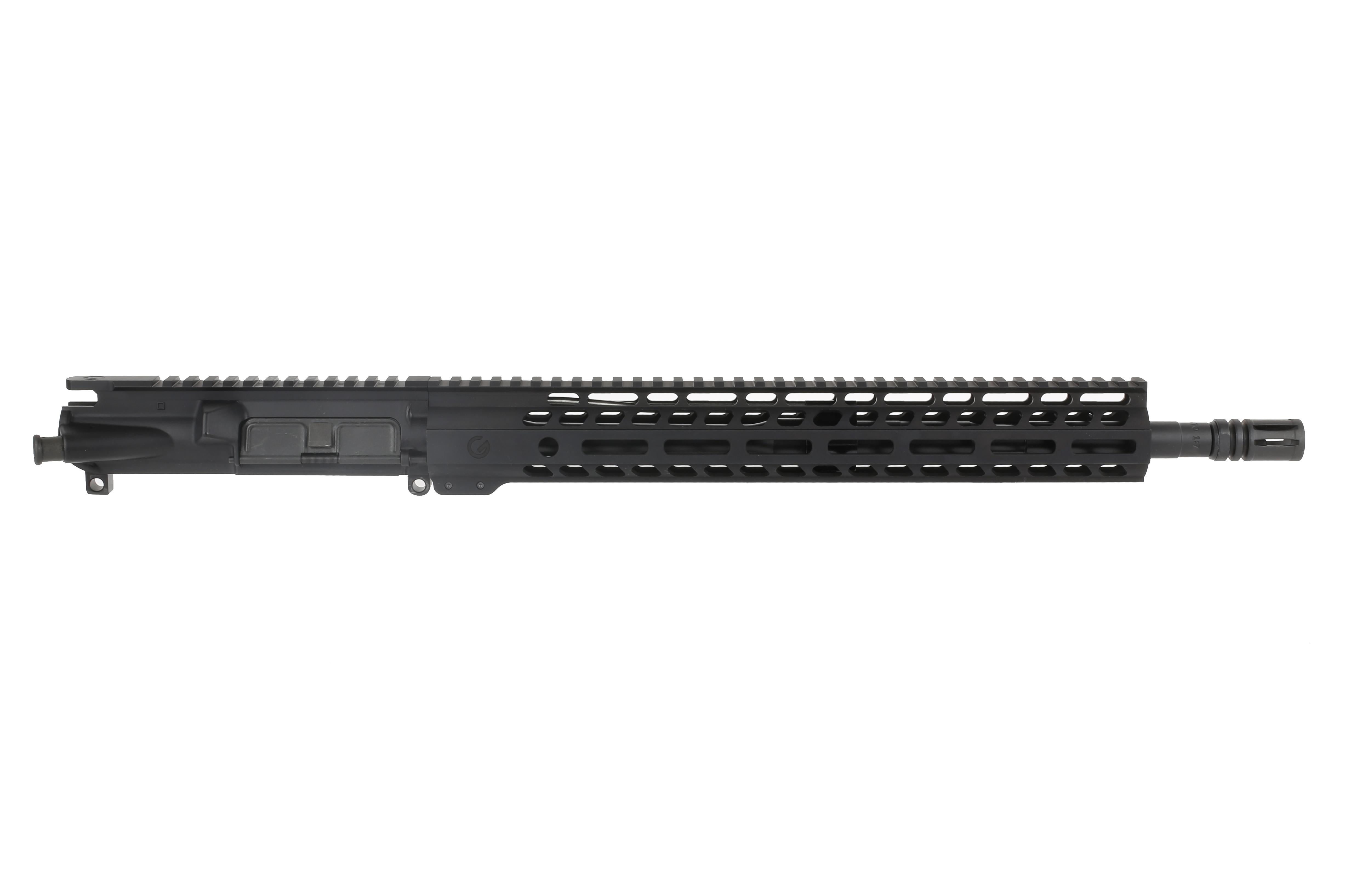 This m4 flat top upper receiver group is made by ghost firearms and has a 16 inch barrel