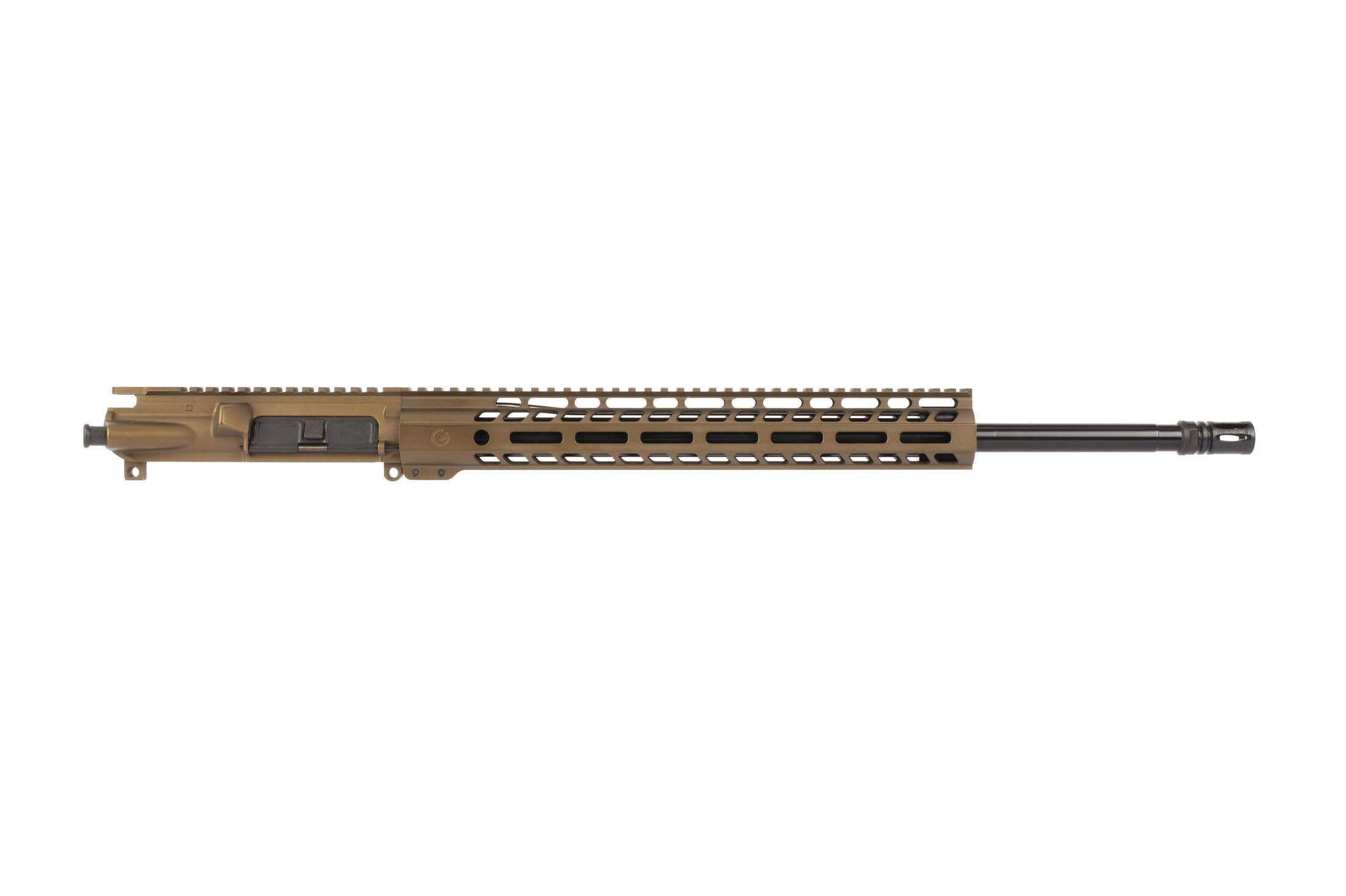 "The Ghost Firearms 20 6.5 Grendel Elite Rifle Length Barreled Upper includes a 14"" M-LOK rail"