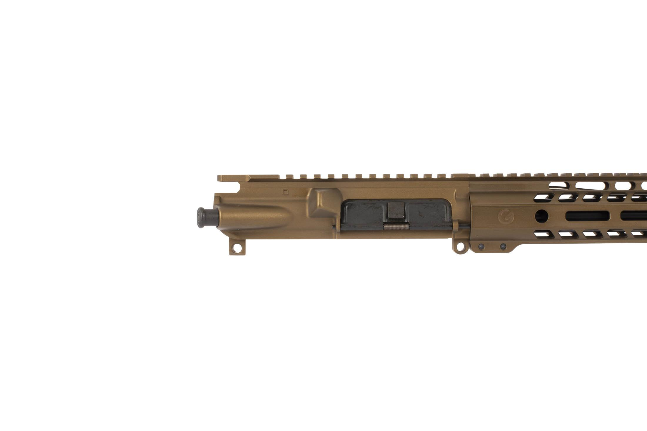 This Ghost Firearms 20 6.5 Grendel 1:8 Elite Rifle Length Barreled Upper is available in Burnt Bronze