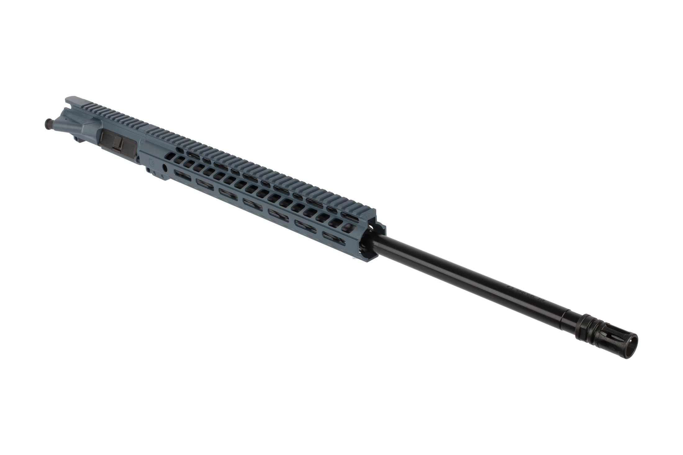 The Ghost Firearms 6.5 Grendel Elite Rifle Length Barreled Upper features a 24 barrel with a Melonite finish
