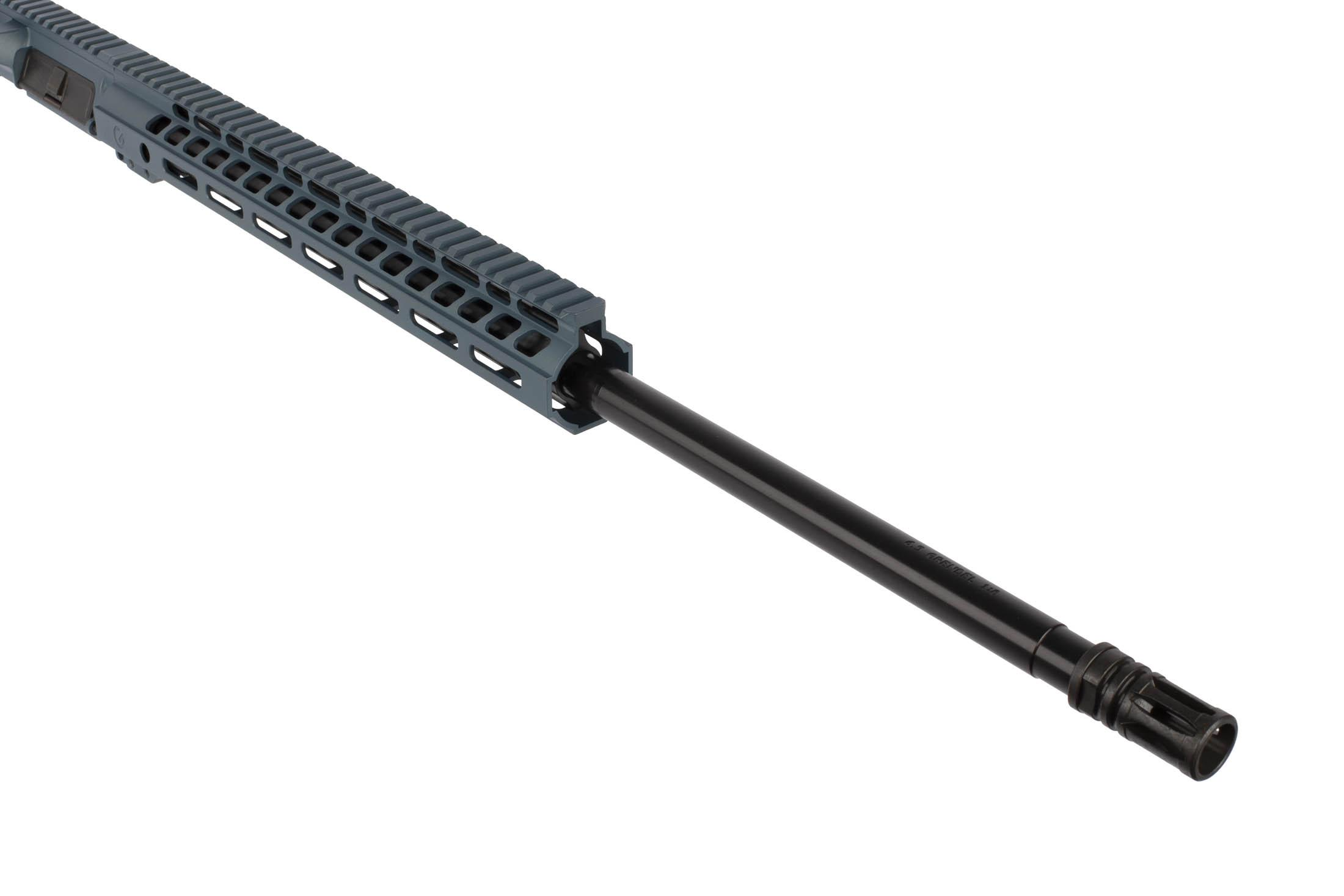 The Ghost Firearms 24 Elite Rifle Length Barreled Upper is chambered in 6.5 Grendel with a 1:8 twist rate
