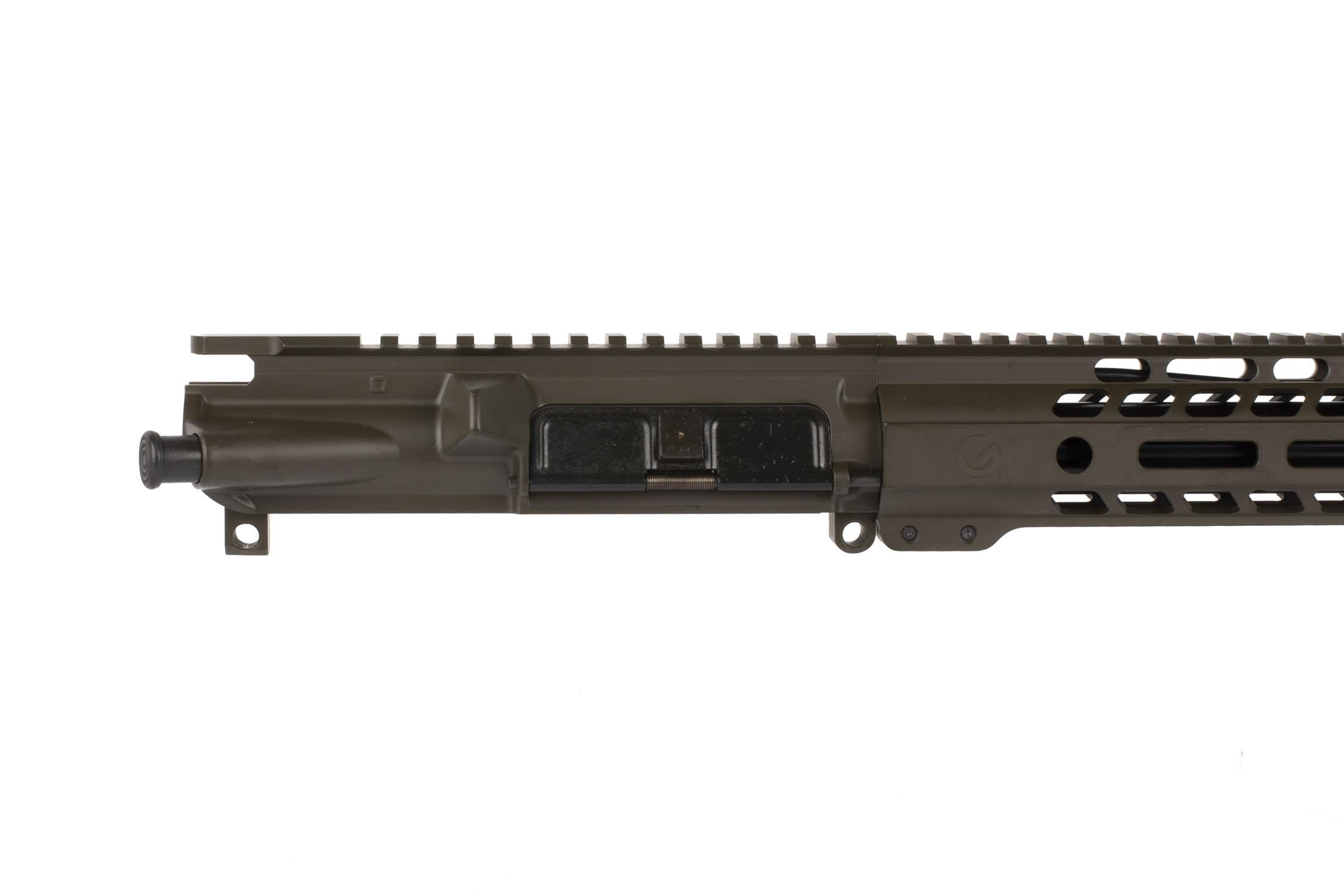 This Ghost Firearms 24 6.5 Grendel 1:8 Elite Rifle Length Barreled Upper is available in Olive Drab Green