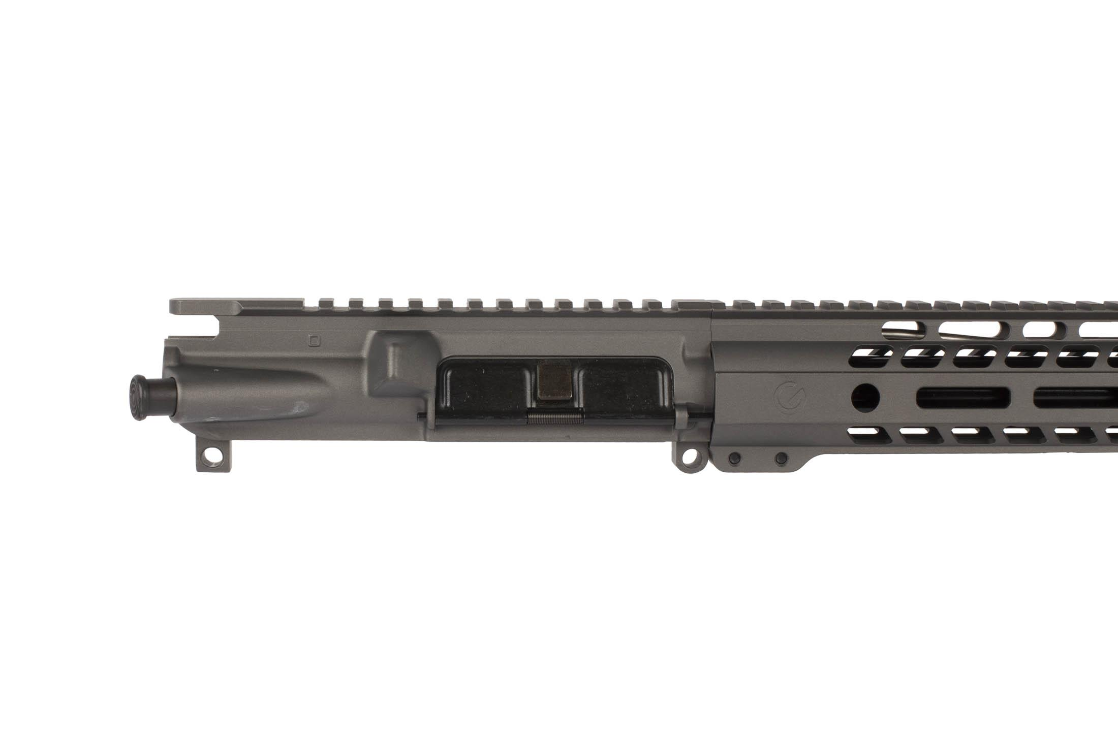 This Ghost Firearms 24 6.5 Grendel 1:8 Elite Rifle Length Barreled Upper is available in Tungsten Gray