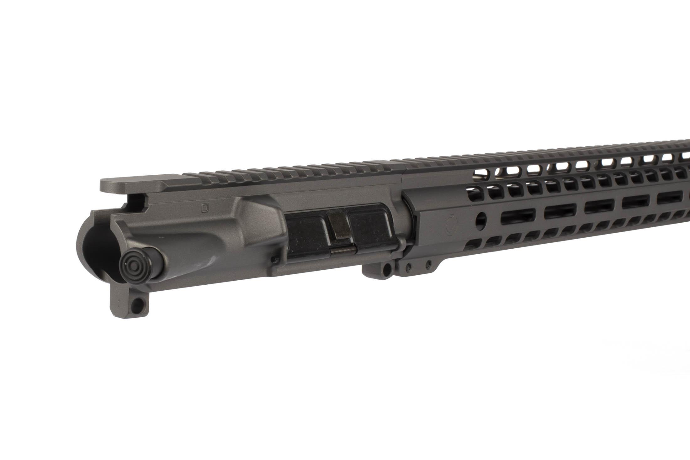 The Ghost Firearms 24 6.5 Grendel Elite Upper Receiver includes a MIL-SPEC port door cover and forward assist