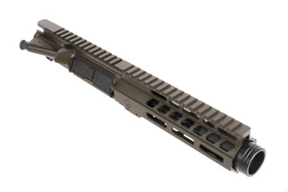 "The Ghost Firearms 5.5 inch 9mm 1:10 twist HBAR Elite Barreled Upper receiver with 7"" m-lok rail for lights and accessories"