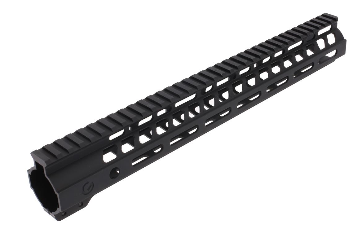 The Ghost Firearms free float handguard 14 inch features a picatinny rail