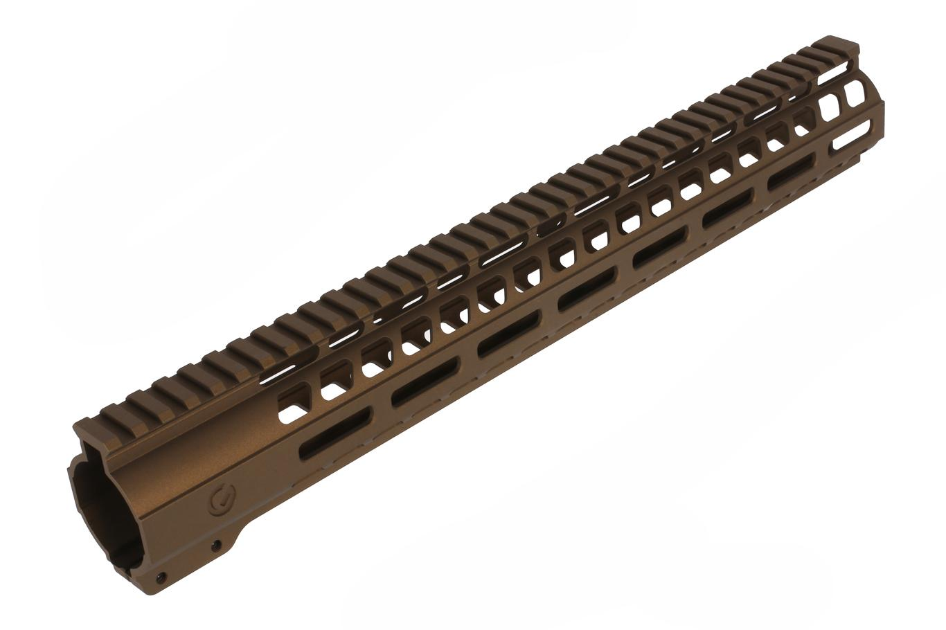 Ghost Firearms 15 M-LOK Handguard - DPMS Low - Burnt Bronze