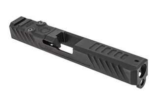 Grey Ghost Precision stripped Version3 Glock 17 Gen 3 slide with dual optic cut for RMR and DeltaPoint Pro