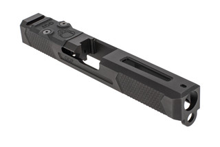 Grey Ghost Precision stripped Version 4 Glock 17 Gen 3 slide with dual optic cut for RMR and DeltaPoint Pro