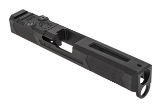Grey Ghost Precision stripped Version 4 Glock 17 Gen 4 slide with dual optic cut for RMR and DeltaPoint Pro