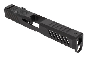 Grey Ghost Precision Glock 17 Stripped Slide V1 features a dual optic cut