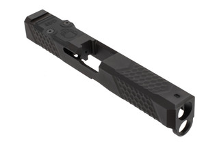 Grey Ghost Precision Glock 17 V2 slide comes with a G10 optic cover plate