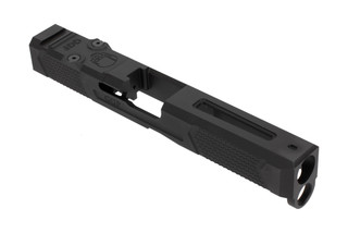Grey Ghost Precision Glock 17 Gen 5 slide V4 features a lightening cut