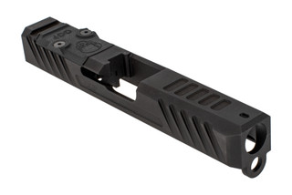Grey Ghost Precision stripped Version3 Glock 19 Gen 3 slide with dual optic cut for RMR and DeltaPoint Pro