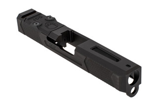 Grey Ghost Precision stripped Version4 Glock 19 Gen 3 slide with dual optic cut for RMR and DeltaPoint Pro